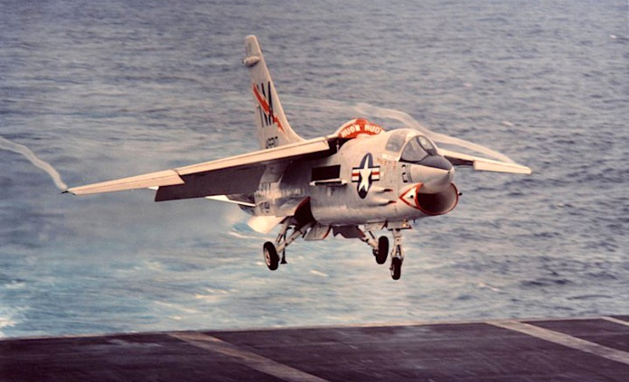 The 'Last Gunfighter': Analysis of F-8 Crusader success over North Vietnam  | Hush-Kit