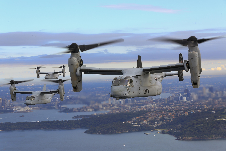 V-22 Osprey: A Triumph of Money over Common Sense?