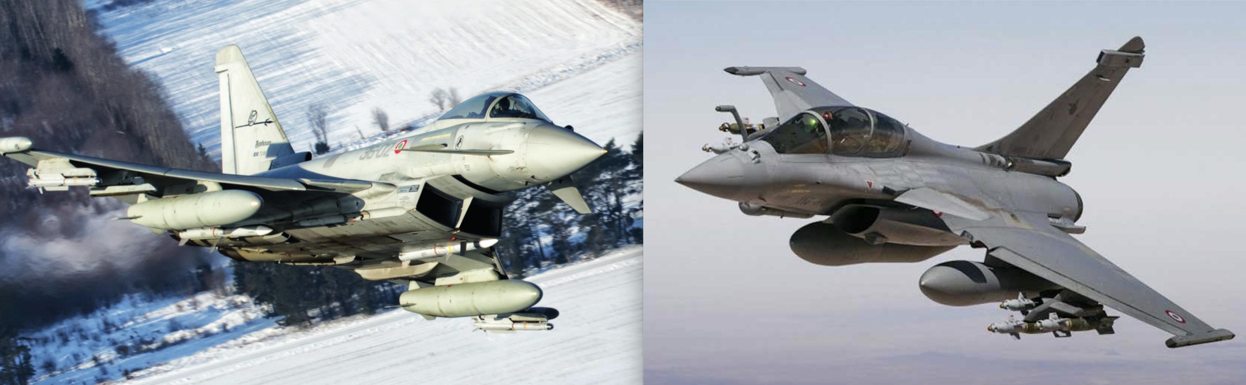 Eurofighter Typhoon versus Dassault Rafale: A 2020 comparison