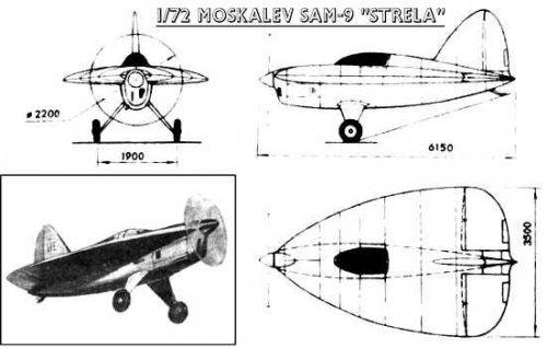 The strange Soviet aeroplanes of Mr. Moskalev