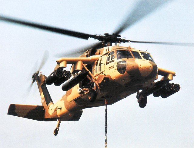 Whatever happened to the Westland WS-70 Blackhawk?